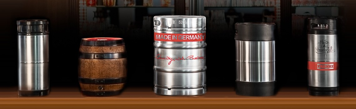 Kegs - Made in Germany